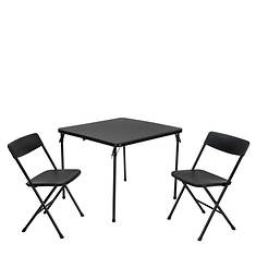 Cosco 3-Piece Folding Table & Chairs Tailgate Set