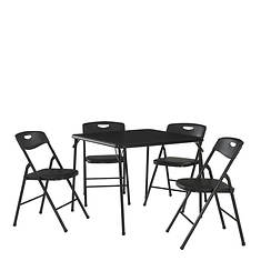Cosco 5-Piece Padded Vinyl Table & Chair Set