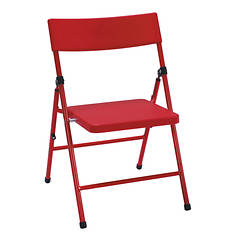 Cosco 4-Piece Kid's Pinch-Free Folding Chair Set
