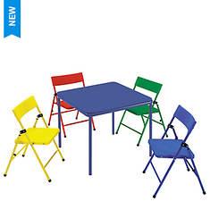 Cosco 5-Piece Kids Folding Chair & Table Set
