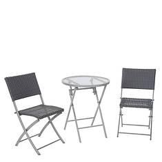 Cosco 3-Piece Transitional Folding Dining Set