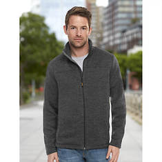 Men's Sweater Fleece Full-Zip Jacket