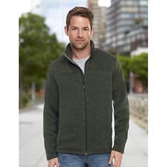 Men's Sweater Fleece Full-Zip Jacket