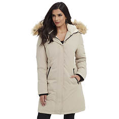 Women's Faux Fur-Trim Parka