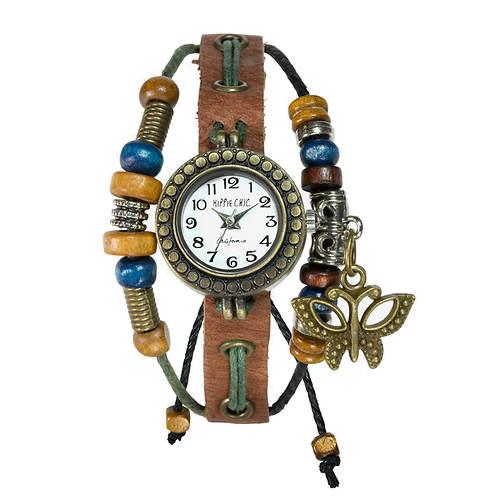 Hippie Chic Boho Watch and Bracelet Set