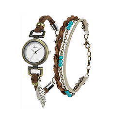 Hippie Chic Piper Watch and Bracelet Set