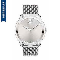 Movado Stainless Steel Strap Analog Watch