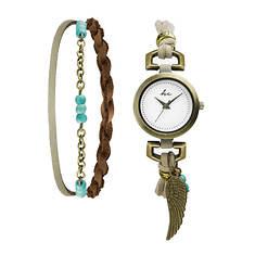 Hippie Chic Serene Watch and Bracelet Set