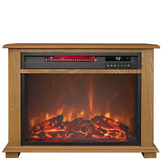 Traditional Infra Heater Fireplace