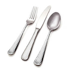 Hampton Forge Melody Hammered 45-Piece Flatware Set