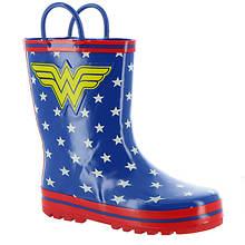 DC Comics Wonder Woman Rain Boot WWS500 (Girls' Toddler)