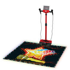 Karaoke Machine with Lighted Stage Mat