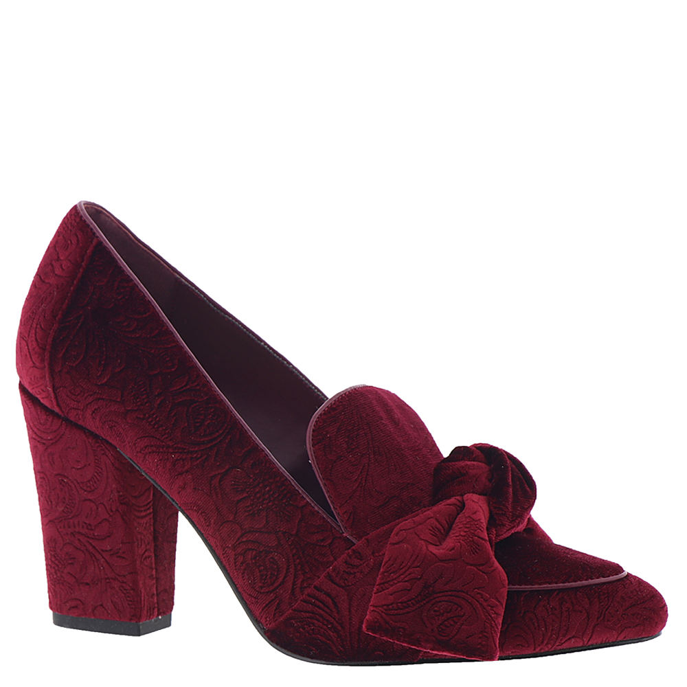 60s Shoes, Boots | 70s Shoes, Platforms, Boots Bella Vita Gala II Womens Burgundy Pump 7 M $48.99 AT vintagedancer.com