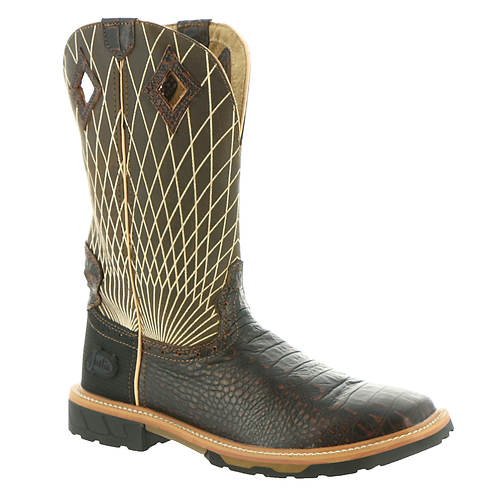 Justin Original Workboots Derrickman Croc Print (Men's)