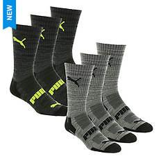 PUMA Men's P111967 Crew 6-Pack Socks