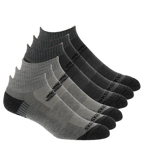 Skechers Men's S109972 Quarter 6-Pack Socks