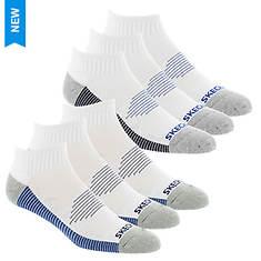 Skechers Men's S111983 Quarter 6-Pack Socks