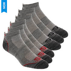 Skechers Men's S110377 Low Cut 6 Pack Socks