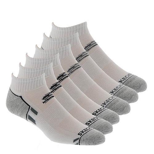 Skechers Men's S110388 Quarter 6-Pack Socks
