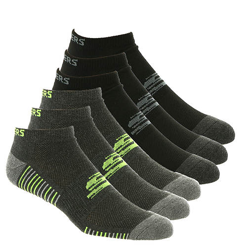 Skechers Men's S111393 Low-Cut 6-Pack Socks