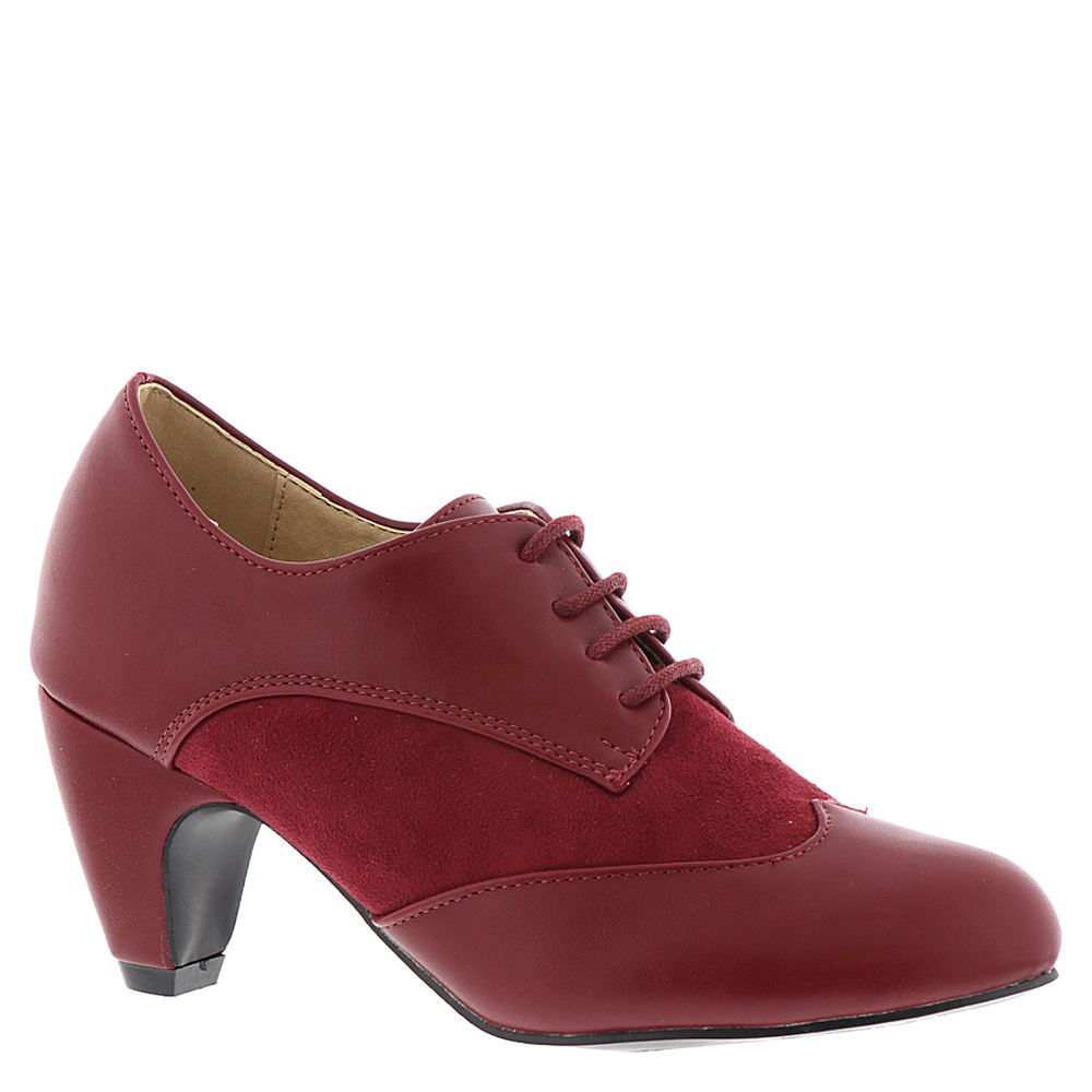 1930s Style Shoes – Art Deco Shoes Masseys Hunter Womens Red Boot 9.5 M $34.99 AT vintagedancer.com