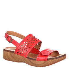 4EurSole Sprightly Perf Slingback Wedge (Women's)