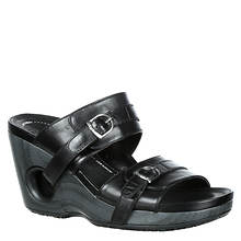 4EurSole Splendor Two Strap Slide (Women's)
