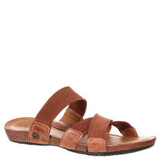 4EurSole Spring Mist Cross Strap Slide (Women's)