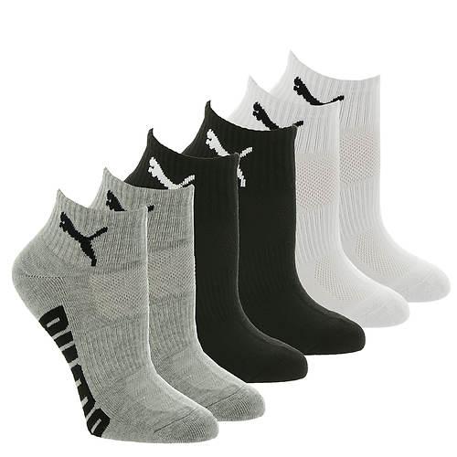 PUMA Women's P112201 Quarter 6-Pack Socks