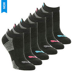 PUMA Women's P112110 Low Cut 6-Pack Socks