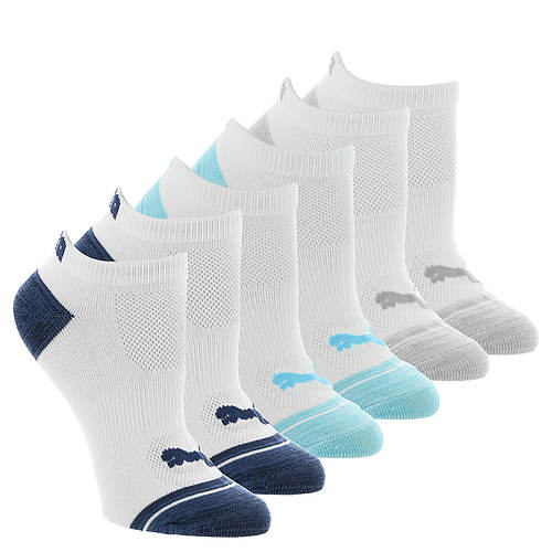 PUMA Women's P112109 Low Cut 6-Pack Socks