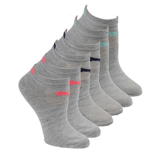 PUMA Women's P112108 Low Cut 6-Pack Socks