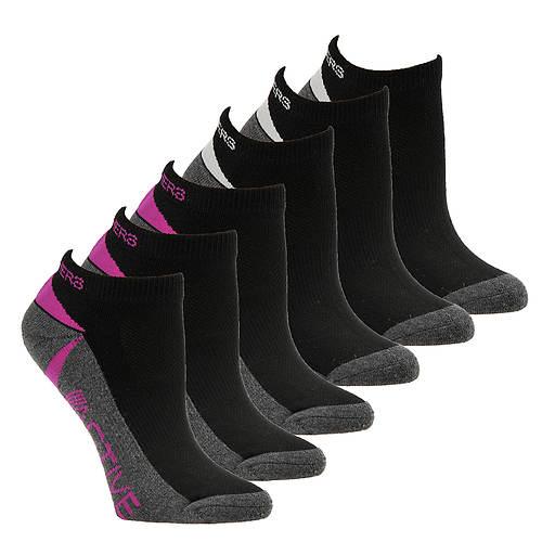 Skechers Women's S110383 Low Cut 6-Pack Socks