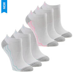 Skechers Women's S111389 Low Cut 6-Pack Socks