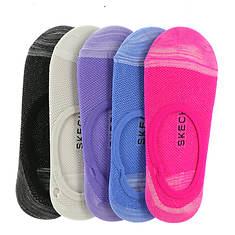 Skechers Women's S110706 Liner 5-Pack Socks