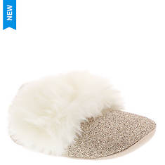 UGG® Fluff Glitter Ballet Flat (Girls' Infant)