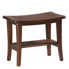 Hillsdale Furniture Preston Rectangle Vanity Stool