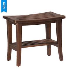 Hillsdale Furniture Preston Rectangle Vanity Stool