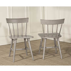 Hillsdale Furniture Mayson Spindle Back Dining Chair 2-Pack