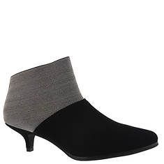 ALL BLACK Fabric Block Bootie (Women's)