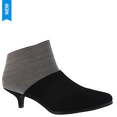ALL BLACK Fabric Block Bootie (Women's)