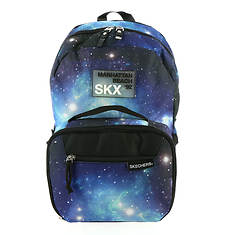 Skechers Twinkle Toes Boys' Galaxy Rider Combo Backpack