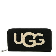UGG® Honey Zip-Around Wallet Sheepskin