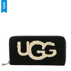 UGG® Honey Zip Around Wallet Sheepskin