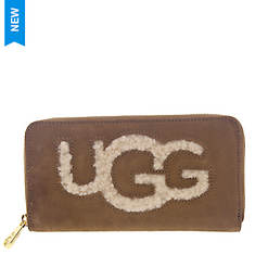 UGG® Honey Zip-Around Wallet Sheepskin