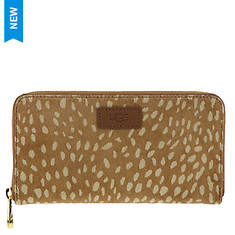 UGG® Honey Zip Around Wallet Idyllwild