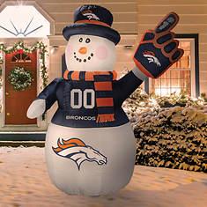 Inflatable NFL Snowman