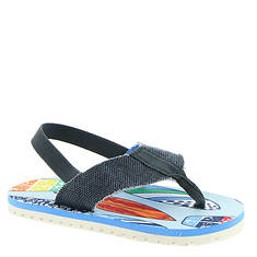 Baby Deer Thong Sandal w/Surf Board Print (Boys' Infant-Toddler)