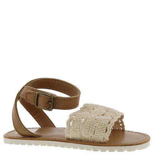 Baby Deer Ankle Strap Sandal w/Crochet Vamp (Girls' Infant-Toddler)