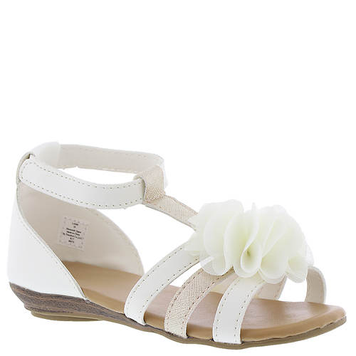 Baby Deer Sandal w/Chiffon Flower (Girls' Infant-Toddler)